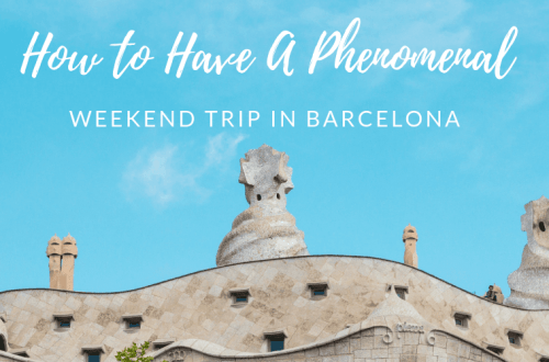 Weekend trip to Barcelona