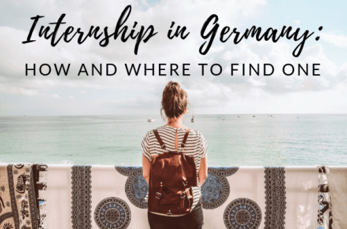 Internship visa in germany