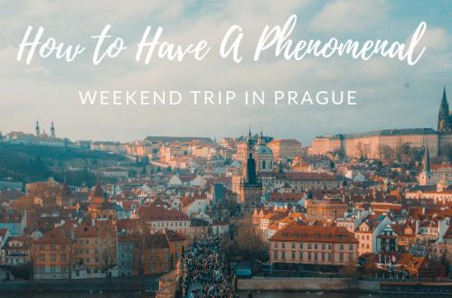 Weekend trip to Prague