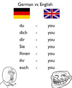 German language funny meme