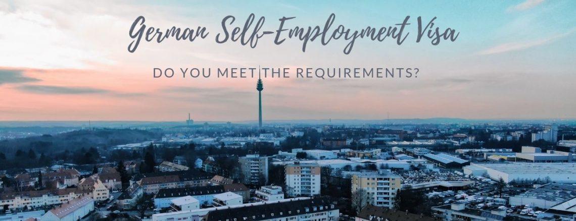 german freelancer visa requirements