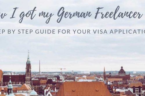 German freelancer visa application
