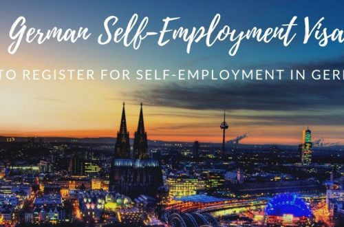 Registering for self employment in germany