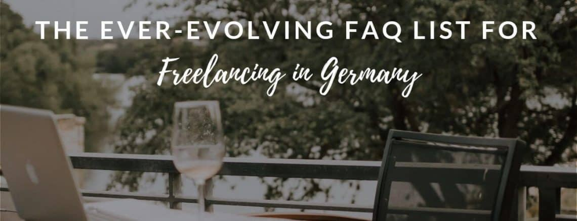 Freelance in Germany FAQs