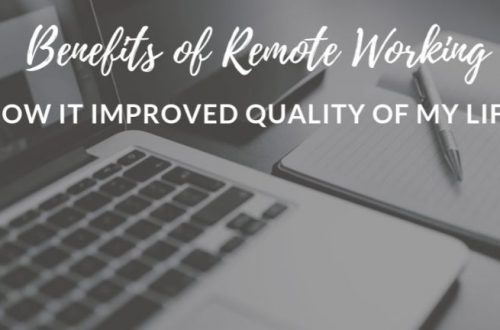 benefits of remote working