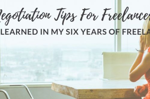 Negotiation Tips For Freelancers