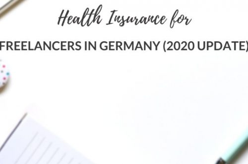 health insurance for freelancers in germany 2020