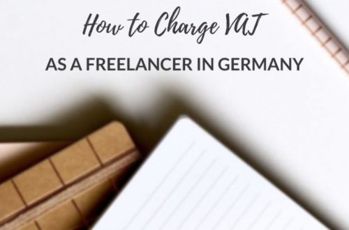Charge VAT as a Freelancer in Germany