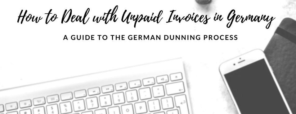 sending mahnung in German