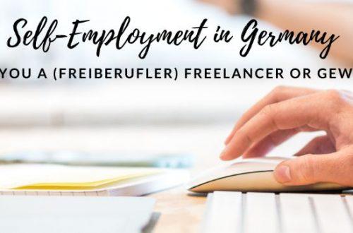 freelancer or gewerbe