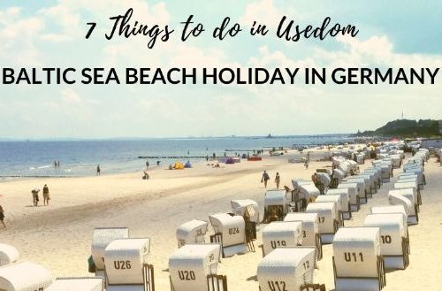 beach holiday in Usedom germany
