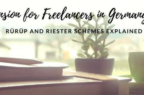pension for freelancers in germany