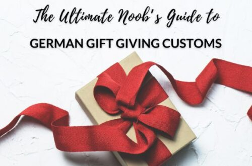 Guide to German Gift Giving Customs