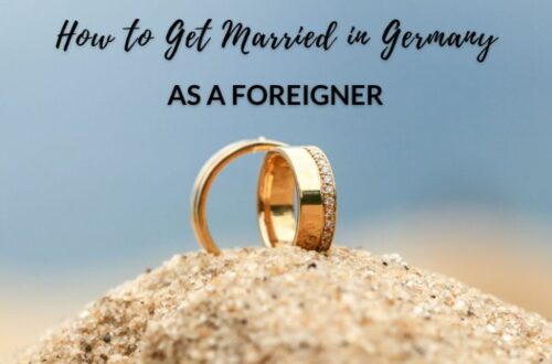 Getting Married in Germany as a Foreigner