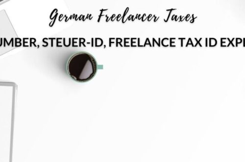 German freelance tax id